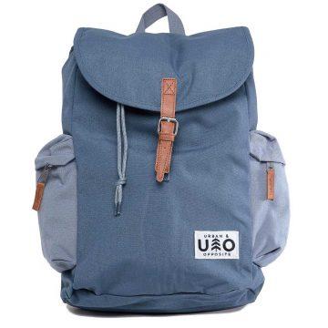 Blå Canvasryggsäck